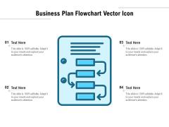 Business Plan Flowchart Vector Icon Ppt PowerPoint Presentation File Designs PDF
