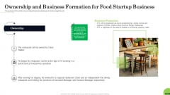 Business Plan For Fast Food Restaurant Ownership And Business Formation For Food Startup Business Sample PDF