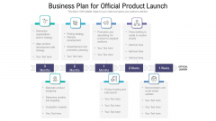 Business Plan For Official Product Launch Ppt Pictures Ideas PDF