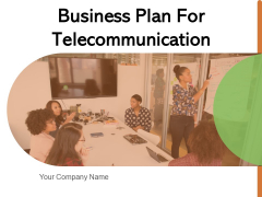 Business Plan For Telecommunication Analysis Sales Ppt PowerPoint Presentation Complete Deck