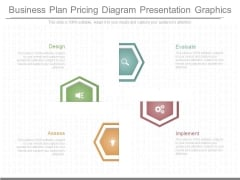 Business Plan Pricing Diagram Presentation Graphics