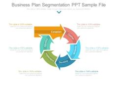 Business Plan Segmentation Ppt Sample File