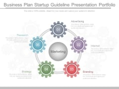 Business Plan Startup Guideline Presentation Portfolio