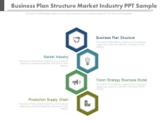 Business Plan Structure Market Industry Ppt Sample