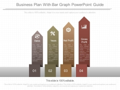Business Plan With Bar Graph Powerpoint Guide