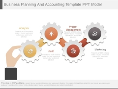 Business Planning And Accounting Template Ppt Model