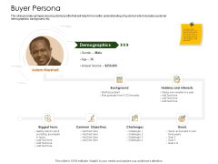 Business Planning And Strategy Playbook Buyer Persona Microsoft PDF