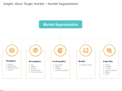 Business Planning And Strategy Playbook Insights About Target Market Market Segmentation Information PDF