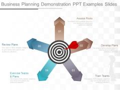 Business Planning Demonstration Ppt Examples Slides