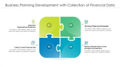 Business Planning Development With Collection Of Financial Data Ppt Model PDF