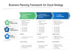 Business Planning Framework For Cloud Strategy Ppt PowerPoint Presentation Outline Summary PDF