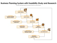 Business Planning System With Feasibility Study And Research Ppt PowerPoint Presentation Icon Layouts PDF