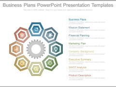 Business Plans Powerpoint Presentation Templates