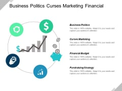 Business Politics Curses Marketing Financial Budget Fundraising Strategy Ppt PowerPoint Presentation Model Samples