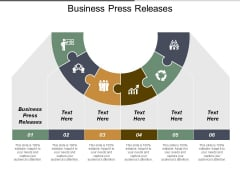 Business Press Releases Ppt PowerPoint Presentation Gallery Graphics Example Cpb