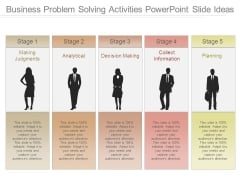 Business Problem Solving Activities Powerpoint Slide Ideas