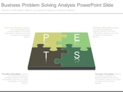 Business Problem Solving Analysis Powerpoint Slide