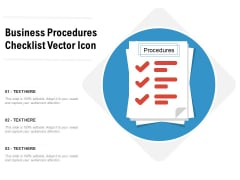 Business Procedures Checklist Vector Icon Ppt PowerPoint Presentation Gallery Format PDF