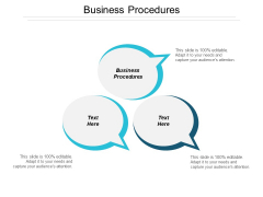 Business Procedures Ppt PowerPoint Presentation Pictures Template Cpb