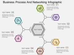 Business Process And Networking Infographic Powerpoint Templates