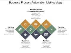 Business Process Automation Methodology Ppt PowerPoint Presentation Portfolio Diagrams Cpb