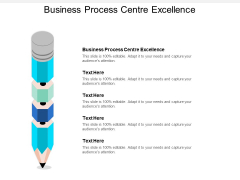 Business Process Centre Excellence Ppt PowerPoint Presentation Inspiration Background Designs Cpb