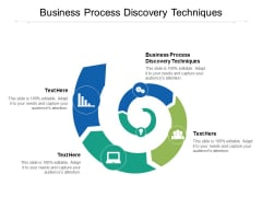 Business Process Discovery Techniques Ppt PowerPoint Presentation Summary Influencers Cpb