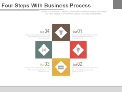 Business Process Flow Infographic Chart Powerpoint Template