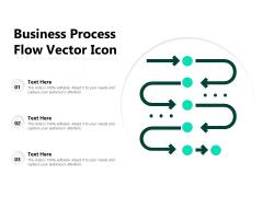 Business Process Flow Vector Icon Ppt PowerPoint Presentation Summary Design Ideas PDF