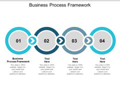Business Process Framework Ppt PowerPoint Presentation Outline Structure Cpb