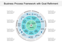 Business Process Framework With Goal Refinment Ppt PowerPoint Presentation Show Graphics Pictures PDF