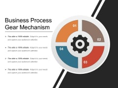 Business Process Gear Mechanism Ppt PowerPoint Presentation Icon Example PDF