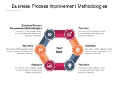 Business Process Improvement Methodologies Ppt PowerPoint Presentation Themes Cpb Pdf