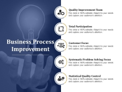 Business Process Improvement Ppt PowerPoint Presentation Gallery Good