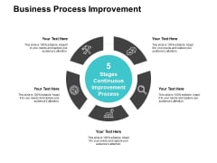 Business Process Improvement Ppt PowerPoint Presentation Infographic Template Slideshow