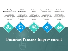 Business Process Improvement Ppt PowerPoint Presentation Outline Graphics