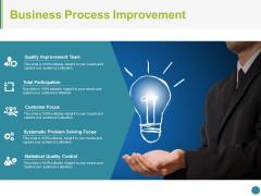 Business Process Improvement Ppt PowerPoint Presentation Portfolio Clipart Images