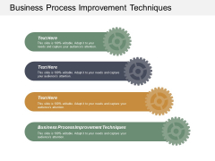 Business Process Improvement Techniques Ppt PowerPoint Presentation Gallery Visual Aids Cpb