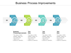 Business Process Improvements Ppt PowerPoint Presentation Ideas Cpb