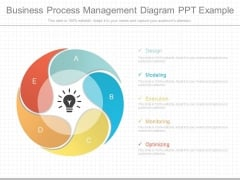 Business Process Management Diagram Ppt Example