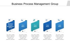 Business Process Management Group Ppt PowerPoint Presentation Model Portfolio Cpb