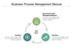 Business Process Management Manual Ppt PowerPoint Presentation Icon Rules Cpb