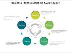 Business Process Mapping Cycle Layout Ppt PowerPoint Presentation File Layouts PDF