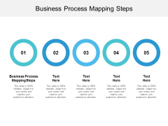 Business Process Mapping Steps Ppt PowerPoint Presentation Icon Visuals Cpb