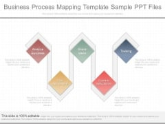 Business Process Mapping Template Sample Ppt Files