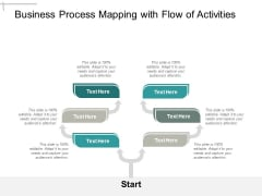 Business Process Mapping With Flow Of Activities Ppt PowerPoint Presentation File Show