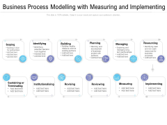 Business Process Modelling With Measuring And Implementing Ppt PowerPoint Presentation Icon Professional PDF