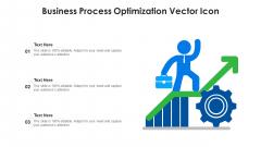 Business Process Optimization Vector Icon Ppt Infographics Smartart PDF