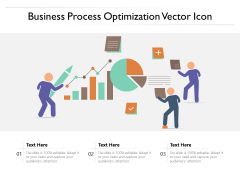 Business Process Optimization Vector Icon Ppt PowerPoint Presentation Gallery Backgrounds PDF