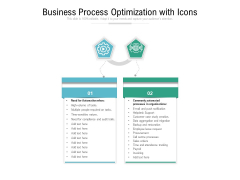 Business Process Optimization With Icons Ppt PowerPoint Presentation File Sample PDF